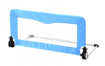 Small Baby Bed Rail Guard - Blue