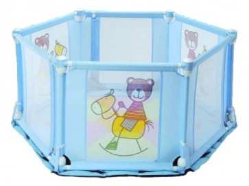 Light weight foldable baby Playpen 6-Sided - manufacturer from Taiwan