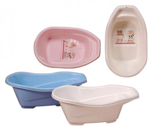 Baby Plastic Bath Tub - Bath Tub & Changing Tables - Bath & Potties
