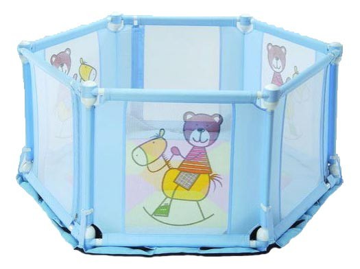 Light Weight Foldable Baby Playpen 6 Sided Playpens