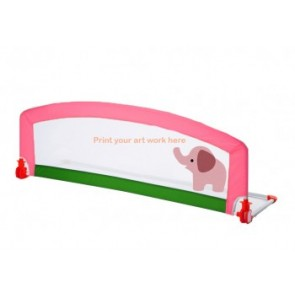 Large Baby Bed Rail Guard Embowed Design